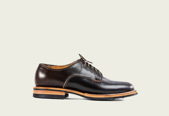 Derby Shoe Dark Cognac Shell Cordovan