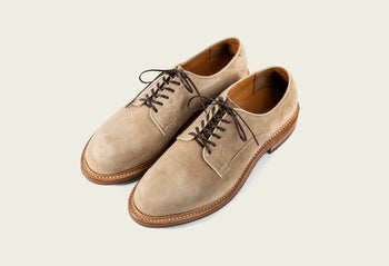Derby Shoe Gaucho Calf Suede