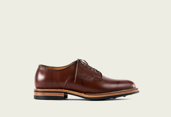 Derby Shoe Pigment Brown Horsebutt