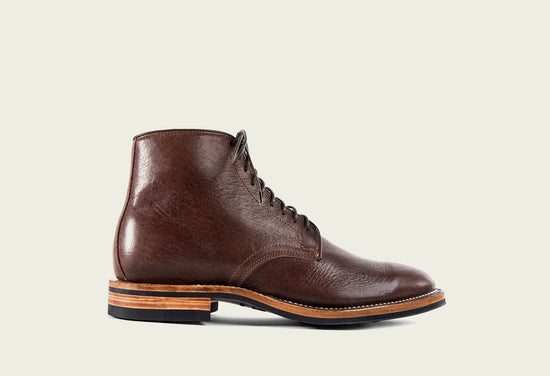 Derby Boot Brown Glacé Deer
