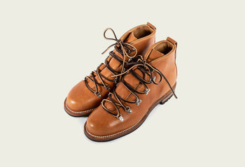 Hiker Natural Japanese Cowhide