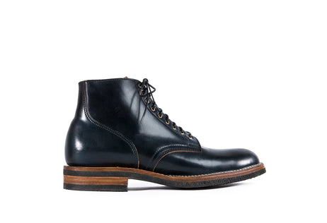 Service Boot Intense Blue Shell Cordovan