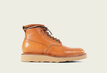 Scout Boot Natural Japanese Cowhide