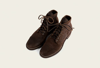 Service Boot Tobacco Chamois Roughout
