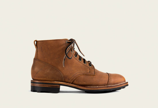Service Boot Nutmeg Waxed Kudu
