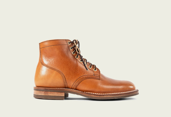 Service Boot Natural Japanese Cowhide