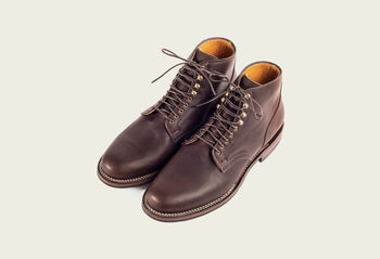 Service Boot Brown Oiled Calf