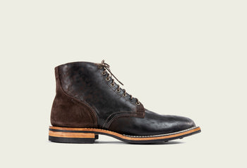 Service Boot Brown Split Horsebutt
