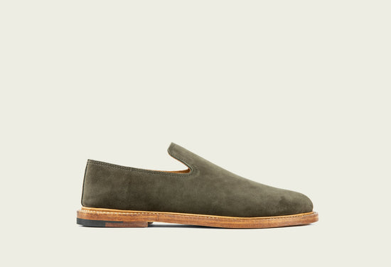 Slipper Earth Calf Suede