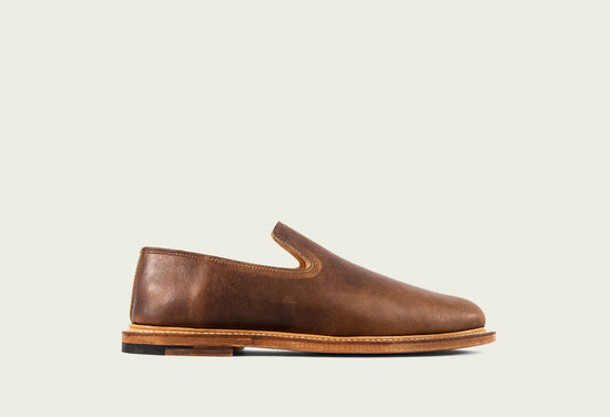 Slipper Camel Oiled Calf