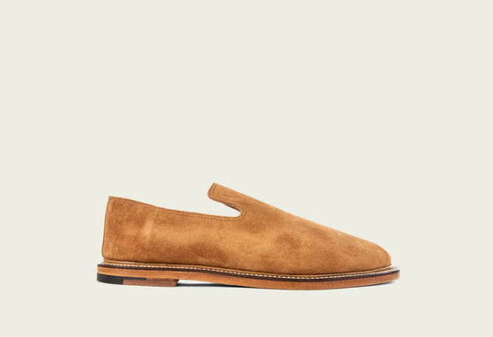 Slipper Anise Calf Suede