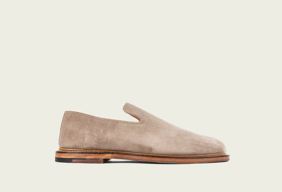 Slipper Mole Calf Suede
