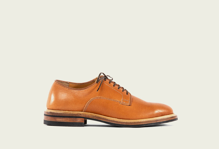 Derby Shoe - Chestnut Essex