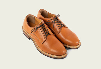 Derby Shoe Chestnut Essex