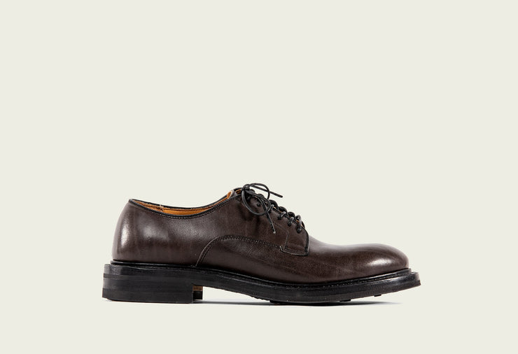Derby Shoe - Winter Smoke Classic Calf