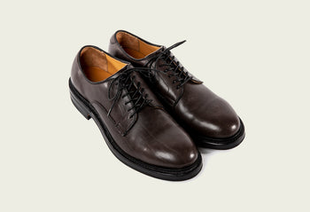 Derby Shoe Winter Smoke Classic Calf