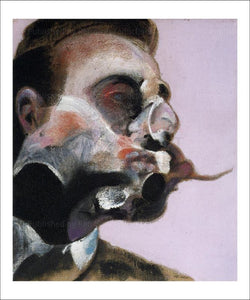 FrancisBacon, Study for a Portrait of George Dyer 1969 I VintageArtReprints.com