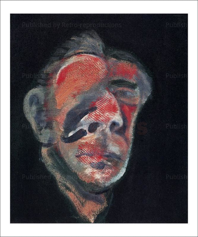 Art print Tete 2, 1961 - Francis Bacon - VintageArtReprints.com