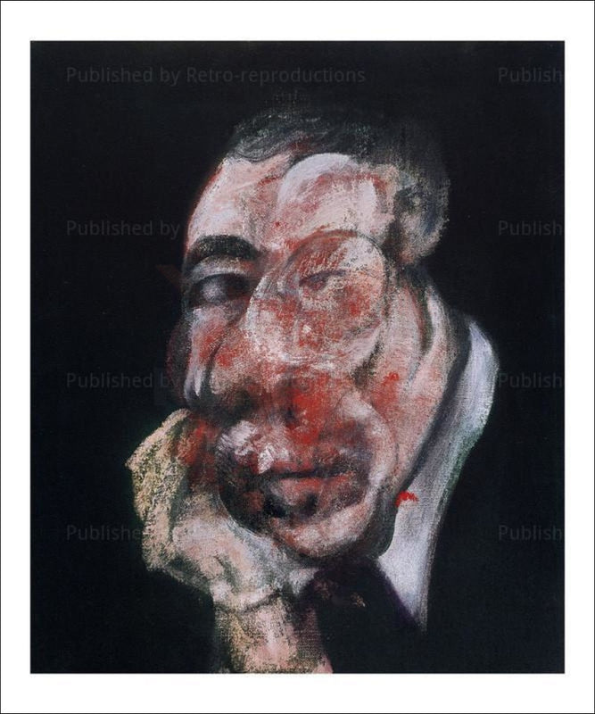 Tete 3, 1961 - Francis Bacon - VintageArtReprints.com