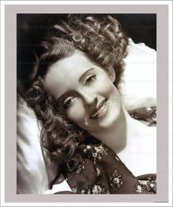 Barbara Stanwick, Hollywood Actress, vintage photo, photographic print - Vintage Art,