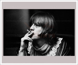 Brian Jones - Rolling Stones, photographic print - Vintage Art, canvas prints