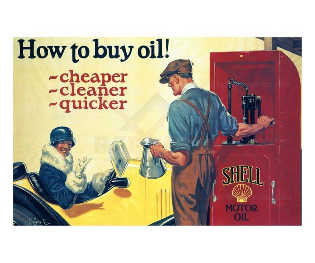 Buy Oil Cheap Clean Quick Morgan 1925, Art print - Vintage Art, canvas prints
