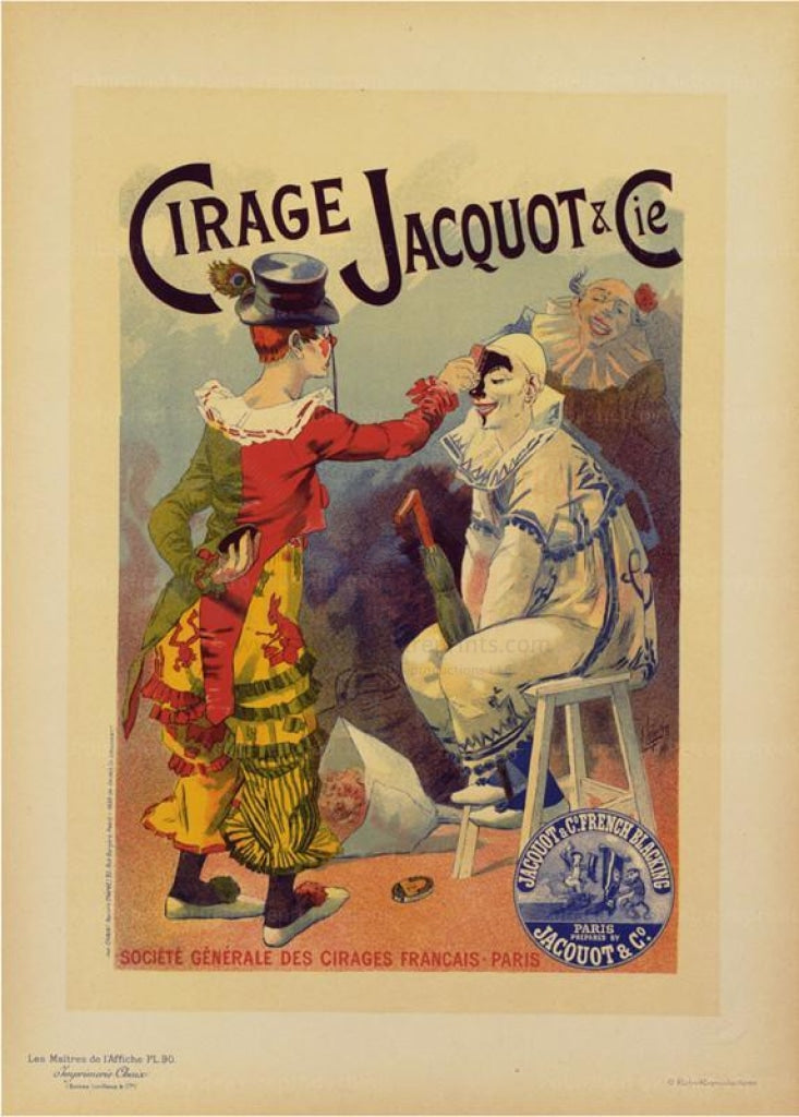 Cirage Jacquot & Cie - Les Maitres de l'Affiche - Reproductions - Vintage Art, canvas prints