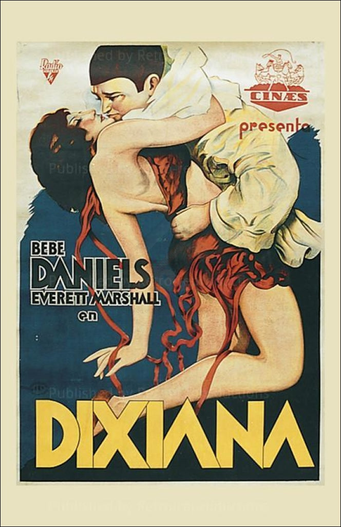 Dixiana - Vintage Art, canvas prints