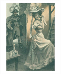 Femme de Theatre 11 - Vintage Art, canvas prints
