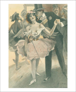 Femme de Theatre 12 - Vintage Art, canvas prints