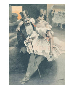 Femme de Theatre 8 - Vintage Art, canvas prints