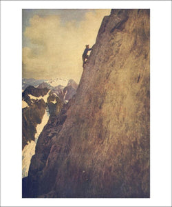 Fly on the Wall of the World - Vintage Art, canvas prints