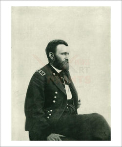 General Ulysses Simpson Grant - Vintage Art, canvas prints