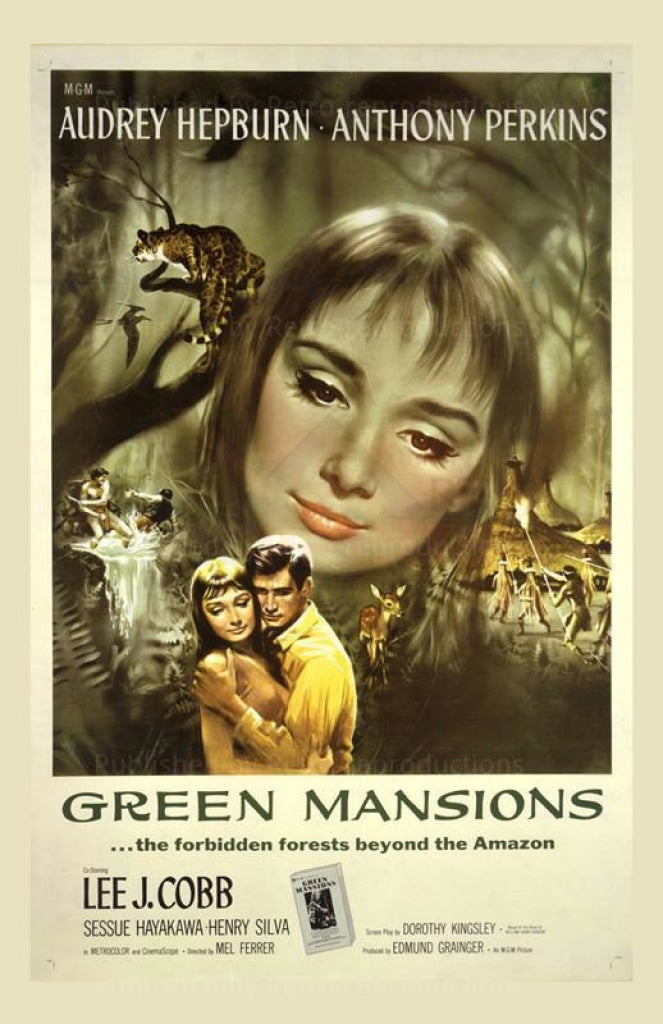 Green Mansions - Vintage Art, canvas prints