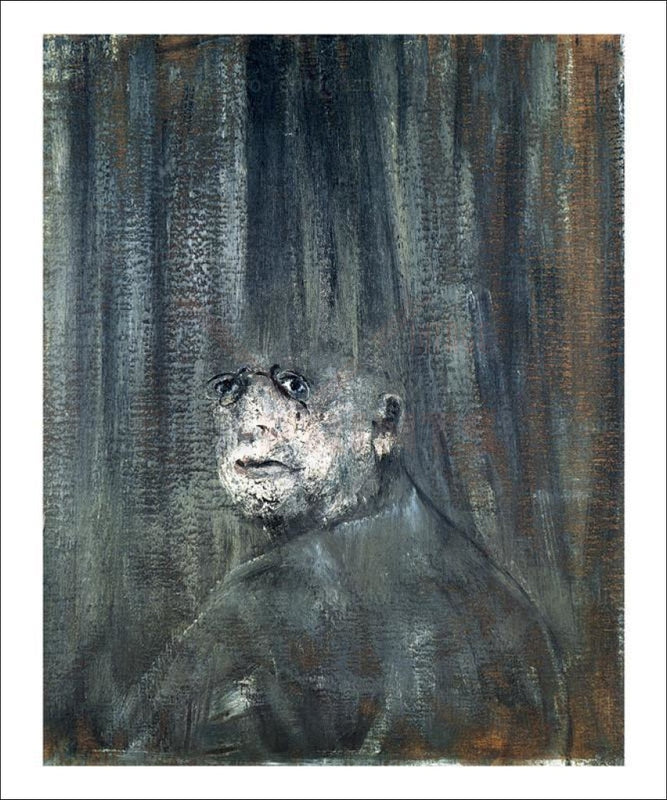 Head 1949 - Francis Bacon - Vintage Art, canvas prints