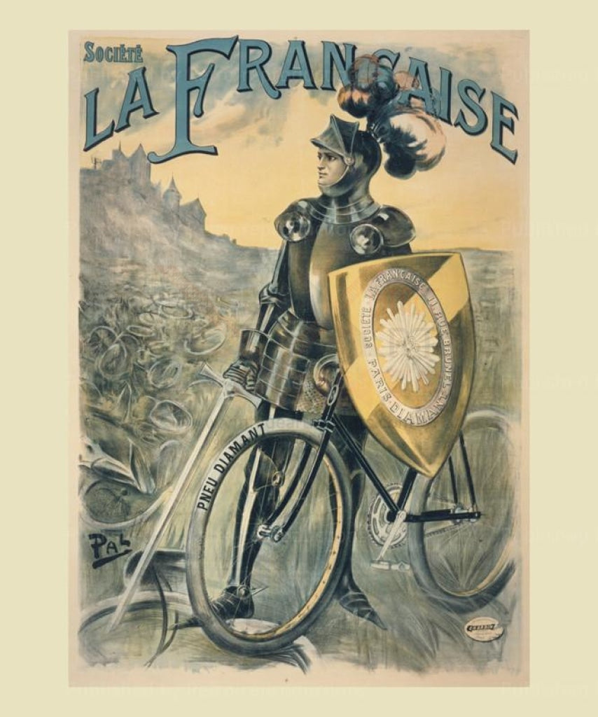 La Francaise - Vintage Art, canvas prints