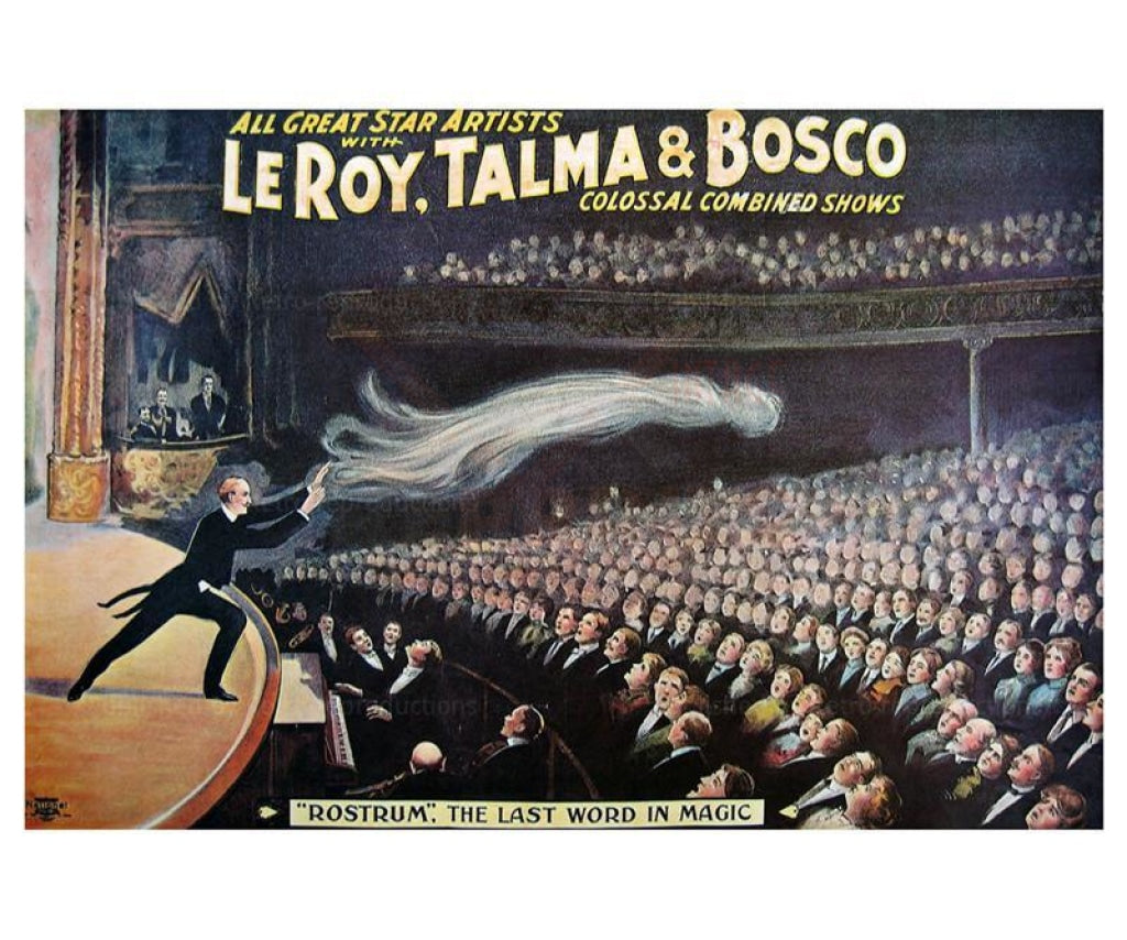 Leroy, Talma et Bosco Rostrum - Vintage Art, canvas prints