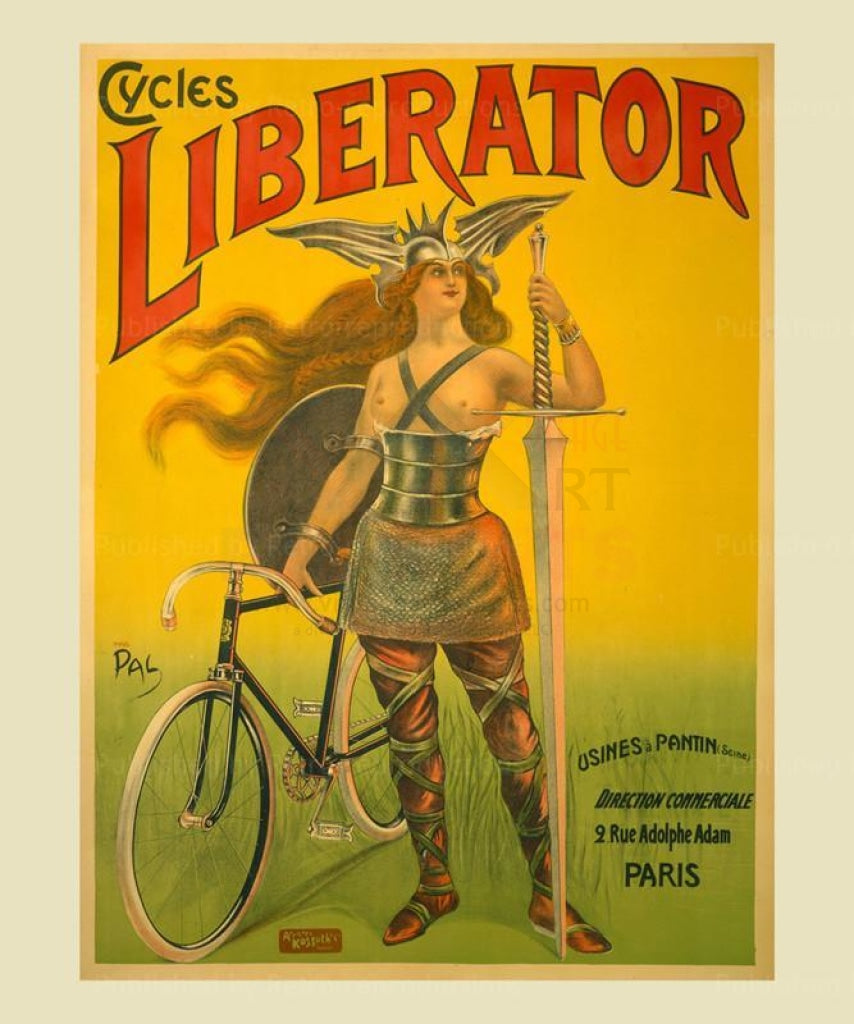 Liberator - Vintage Art, canvas prints