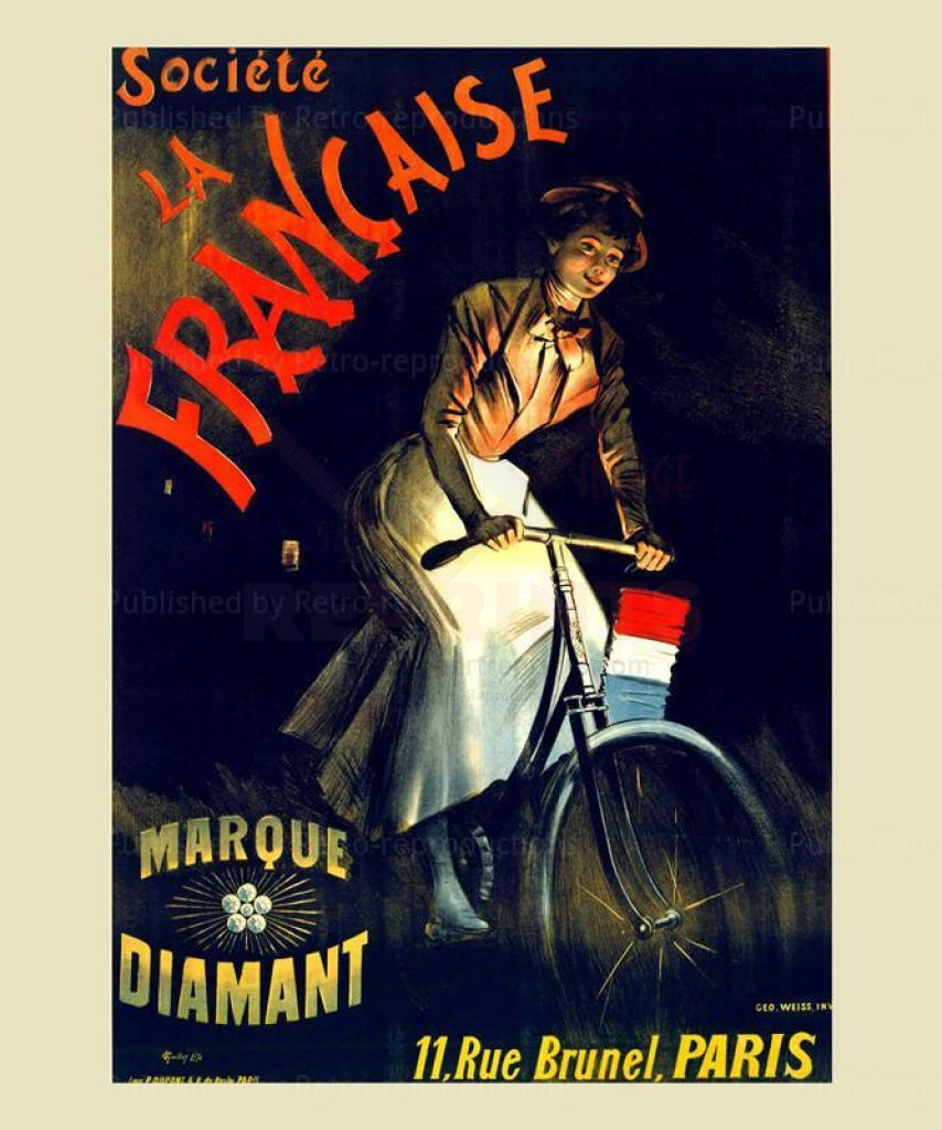Marque Diamant - Vintage Art, canvas prints