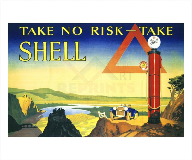 Take No Risk 1928 - Vintage Art, canvas prints