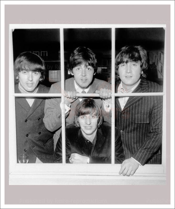 The Beatles - Vintage Art, canvas prints