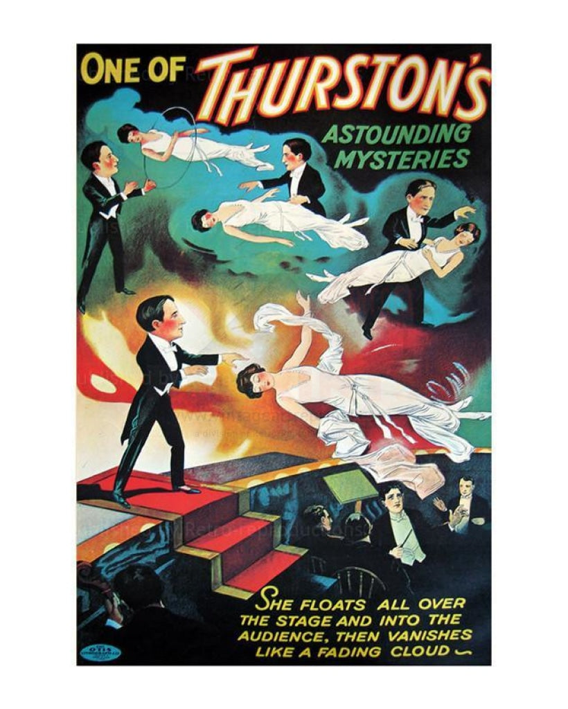Thurston Levitation, 1935 - Vintage Art, canvas prints