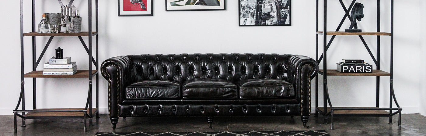 Leather Sofas & Armchairs