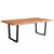Elements 8-Seat Live Edge Dining Table