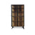Medley 4-Shelf Armoire in Multi-tone Natural Finish