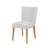 Capri Velvet Fan Back Dining Room Chair