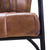Amery Buffalo Leather Armchair in Light Brown