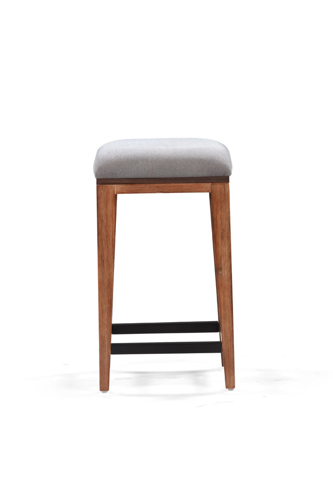 Medley Counter Stool in Multi-tone Natural Finish