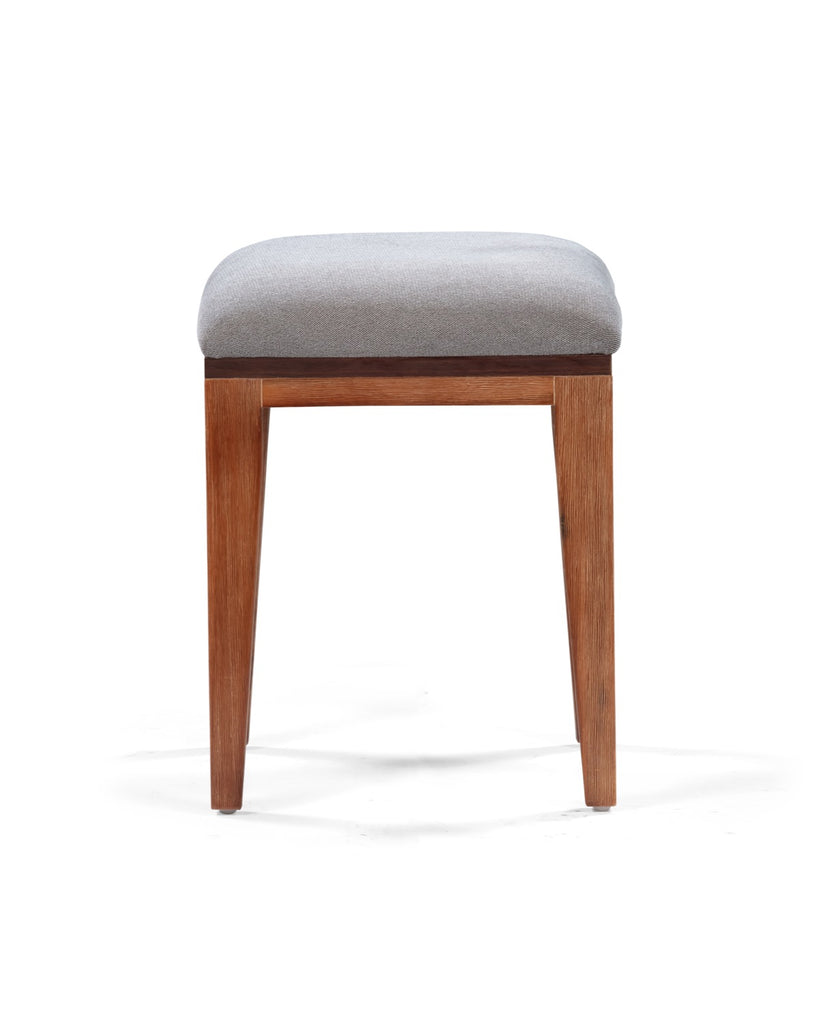 Medley Dining Stool in Multi-tone Natural Finish