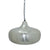 """Kenitra"" Single-Bulb Large Pendant Lamp—Silver"